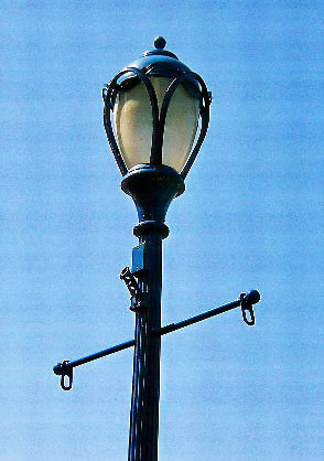 Street Light On Bridge Street In Phoenixville Pa