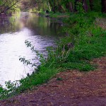Walking Along The Schuylkill Canal On The Phoenixville Greenway