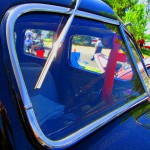 Windshield & Wipers Of 1939 Ford deluxe Sedan