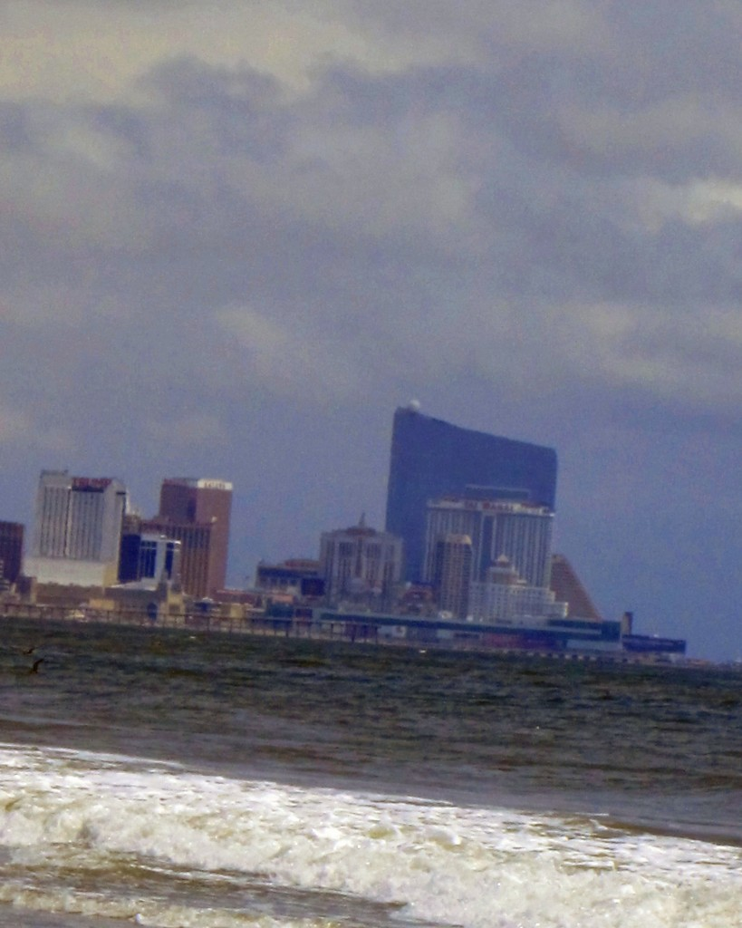 Atlantic City NJ Skyline