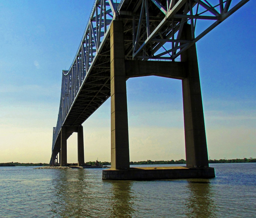 Commodore Barry Bridge East To New Jersey