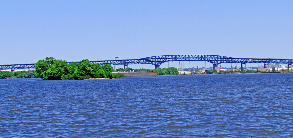 Girard Point Bridge & Boaters Island Philadelphia Pa