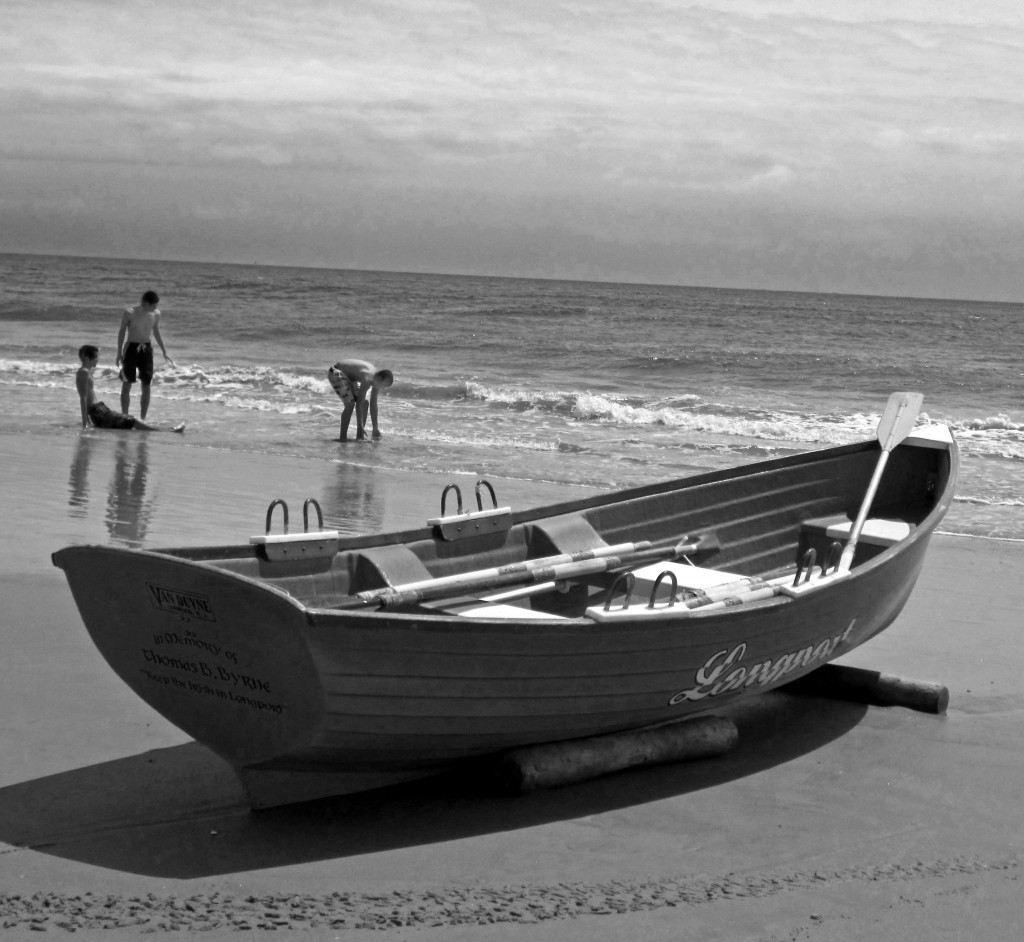 Longport Beach Long Boat