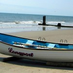 Longport NJ Lifeguard Rescue Boat