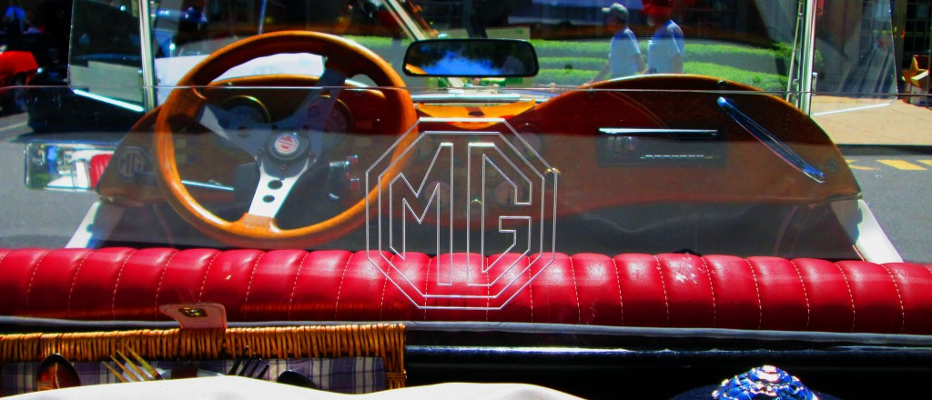 Rear Wind Screen For Modified 1952 MG