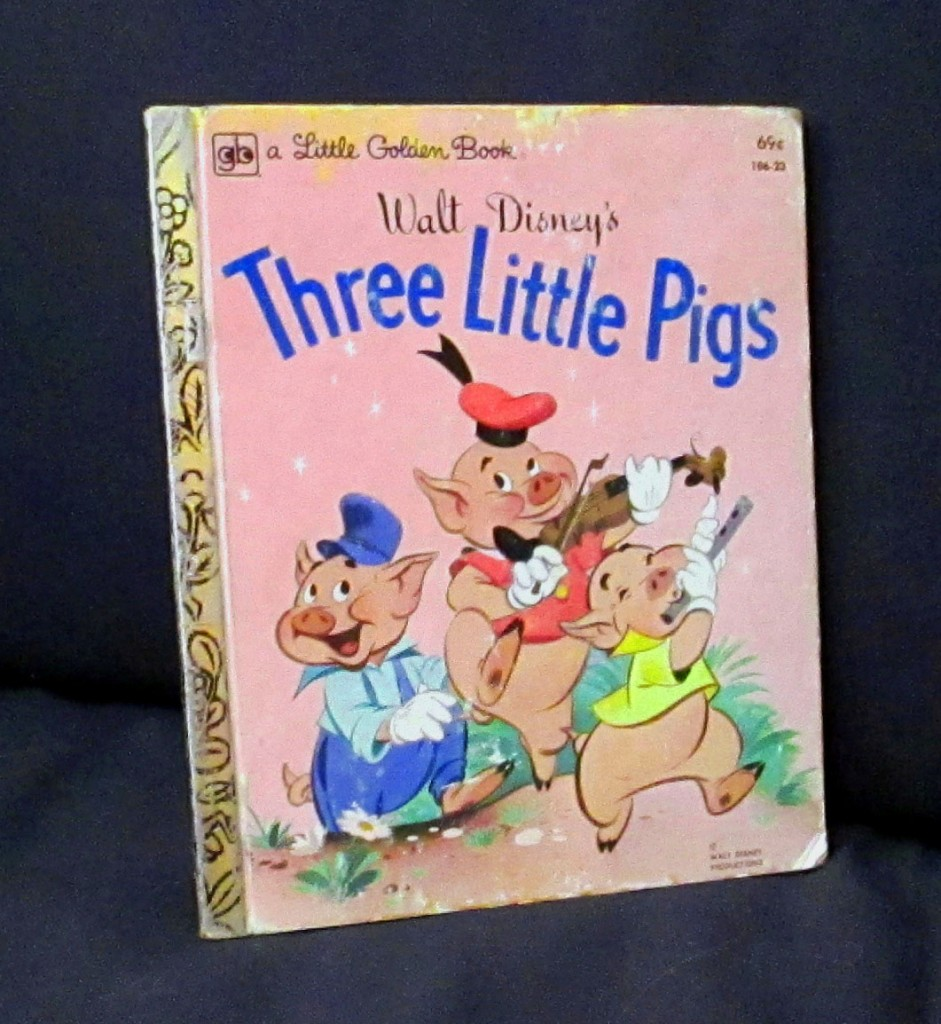 Walt Disney's Little Golden 3 Little Pigs Book