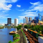 Freight Cars In South Philadelphia