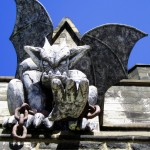 Gargoyle Perched On Eastern State Pen