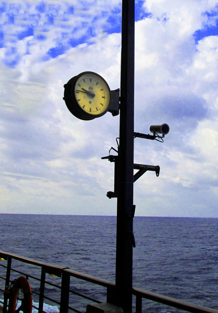 Deck Clock On Celebrity Summit