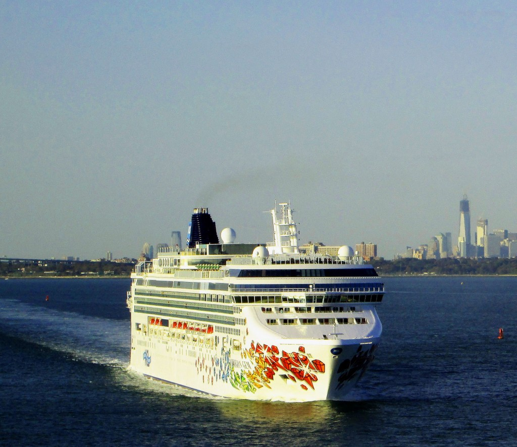Norwegian Gem In New York Upper Bay