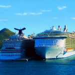 Carnival Dream And Royal Caribbean Oasis Of The Seas