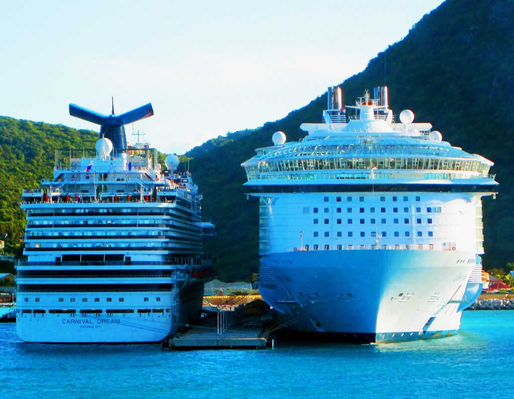Cruise Ships Docked In Philipsburg St Maarten