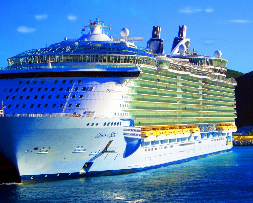 Oasis Of The Seas In Caribbean Port