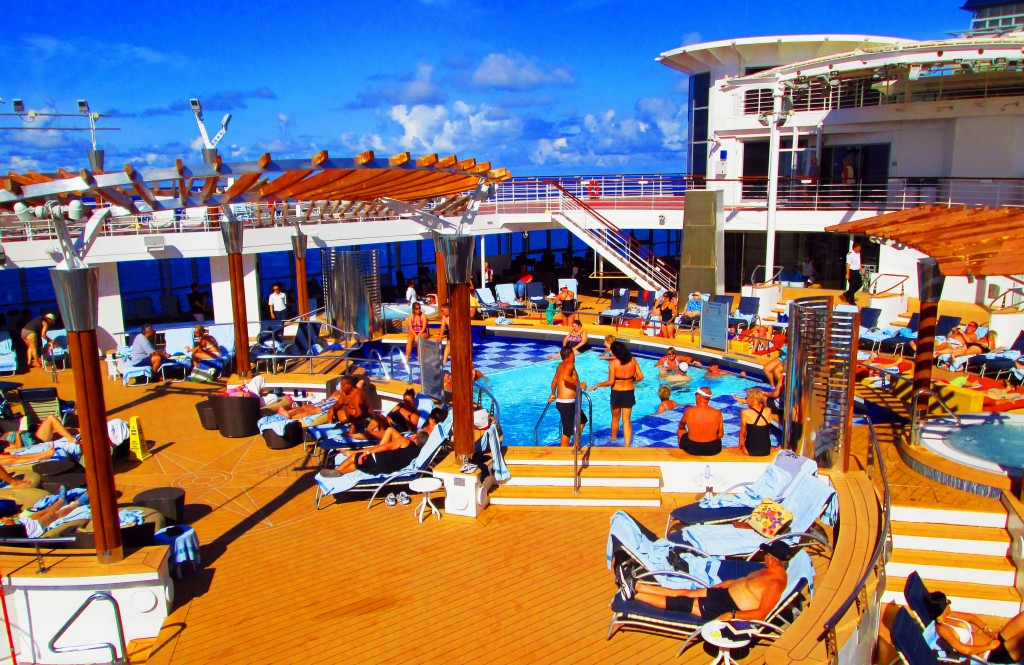Pool Deck On Celebrity Summit Cruise Ship