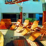 Available Teak Deck Lounges In Cruise Ship Spa