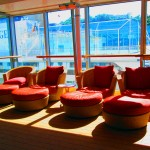 Cruise Ship Cushioned Lounge Chairs & Ottomans