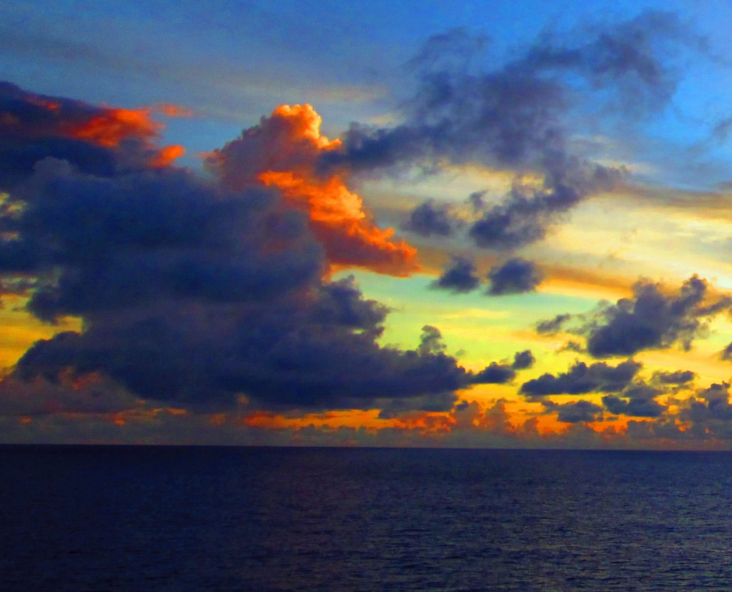 Sunrise On The Atlantic Ocean