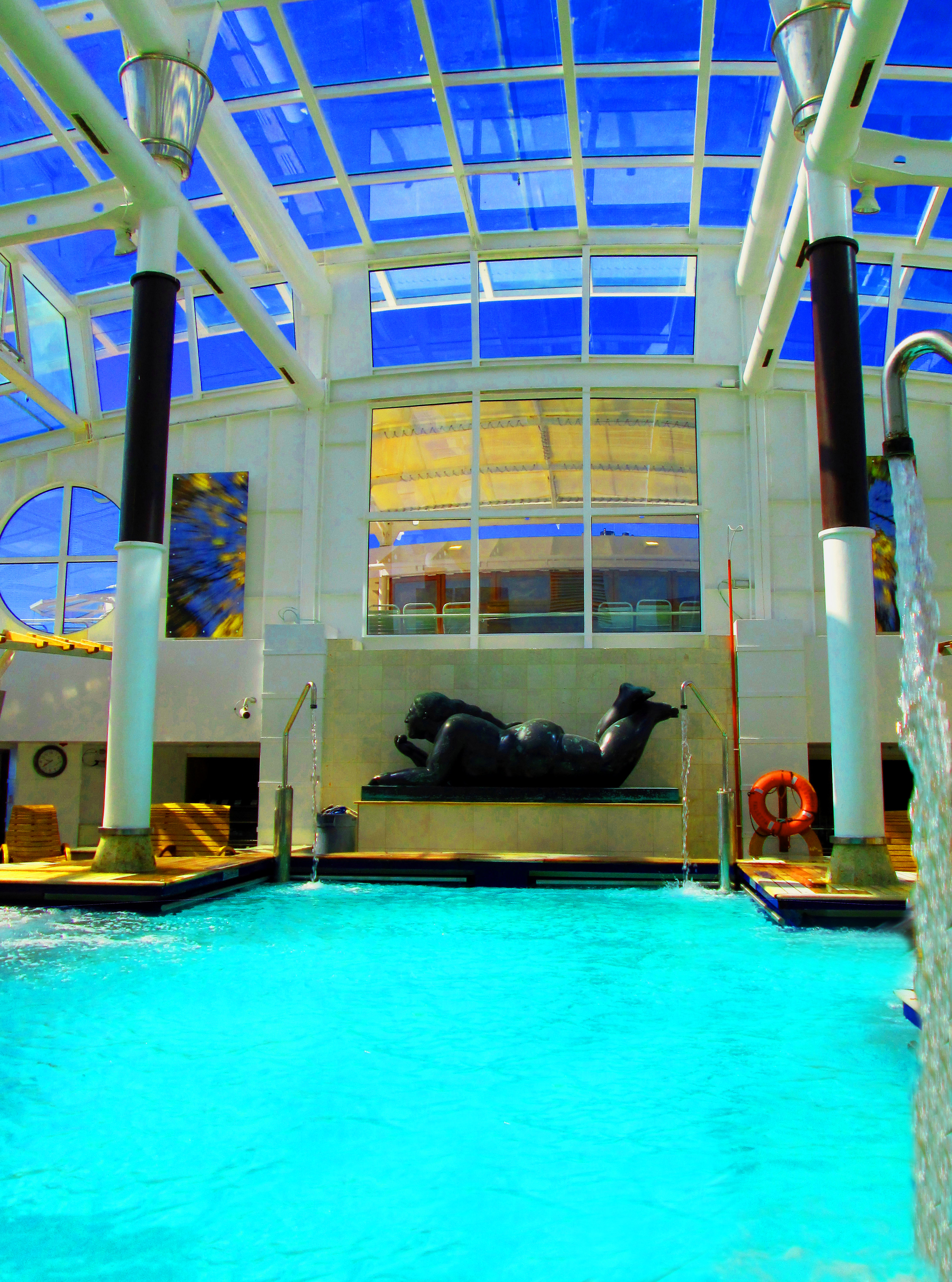 Thalassium Spa Pool On Celebrity Summit Cruise Ship