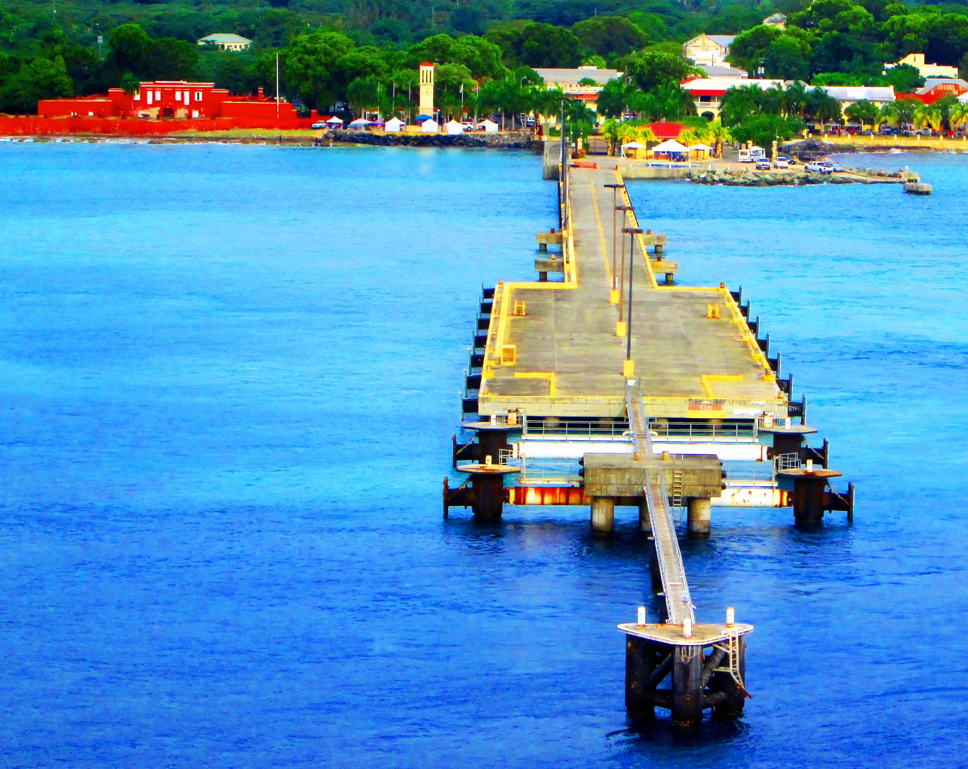 Anne E Abramson Cruise Ship Pier In St Croix