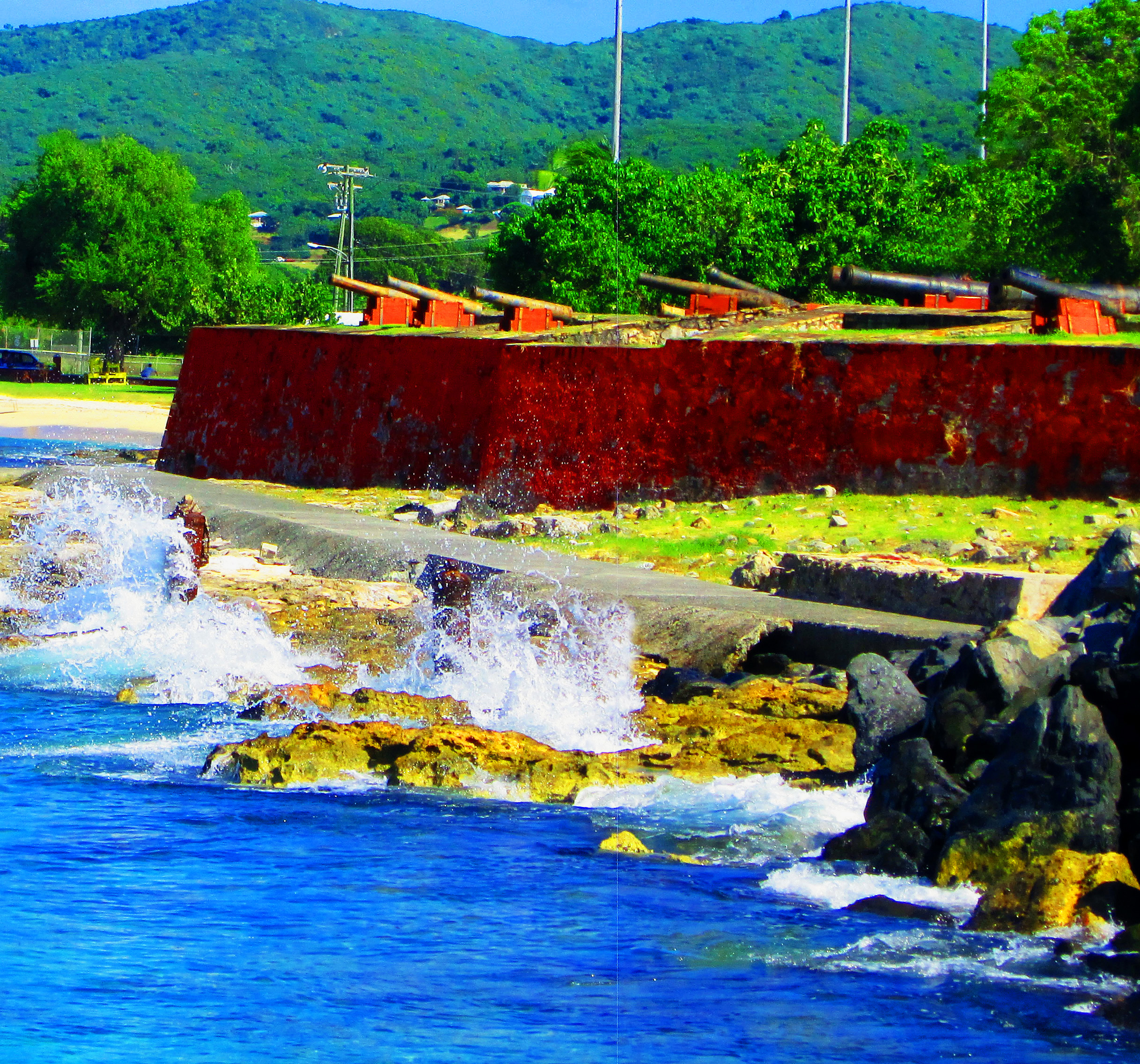 Caribbean Fort & Cannons
