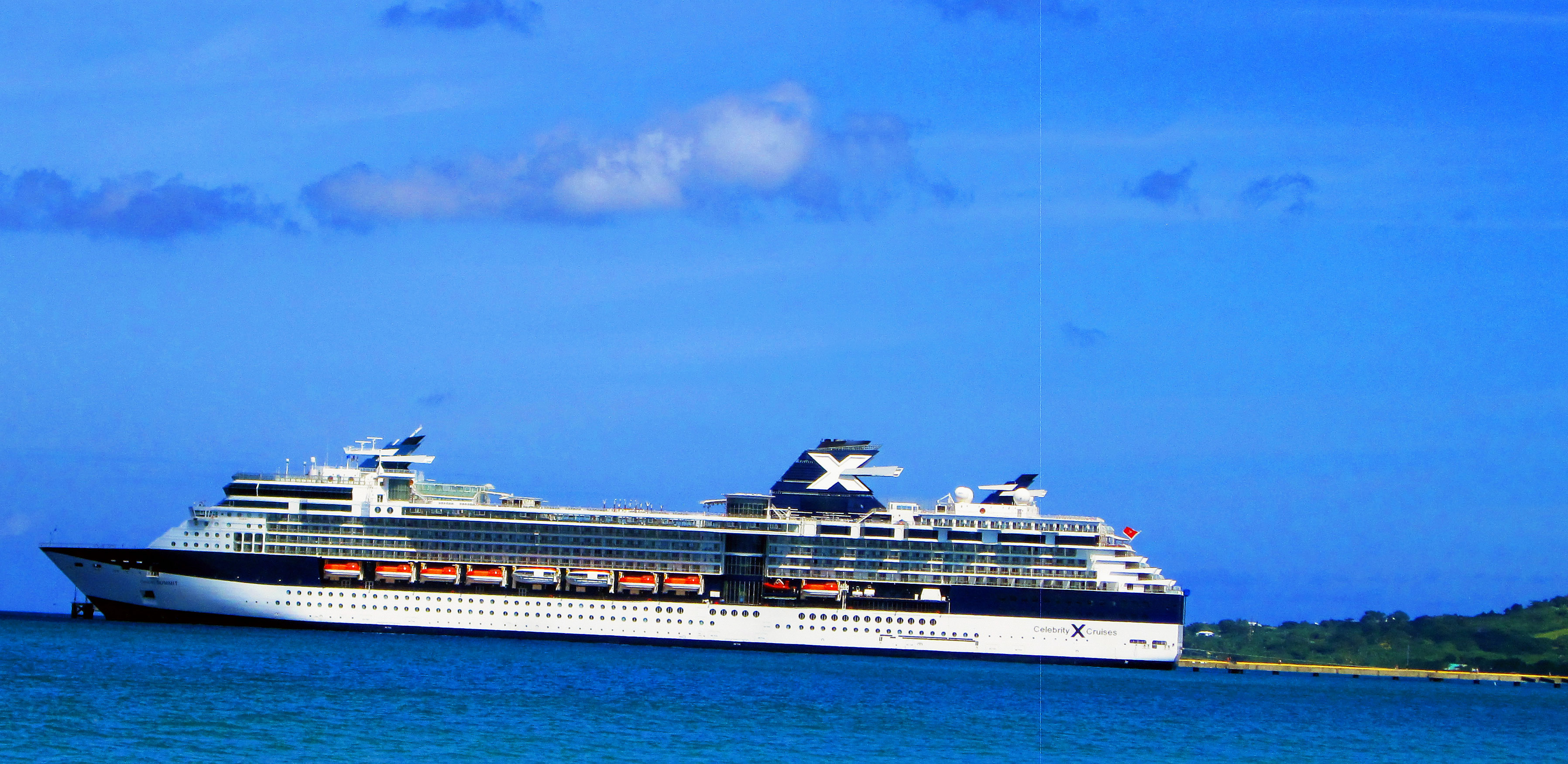 Cruise Ship Docked In St Croix