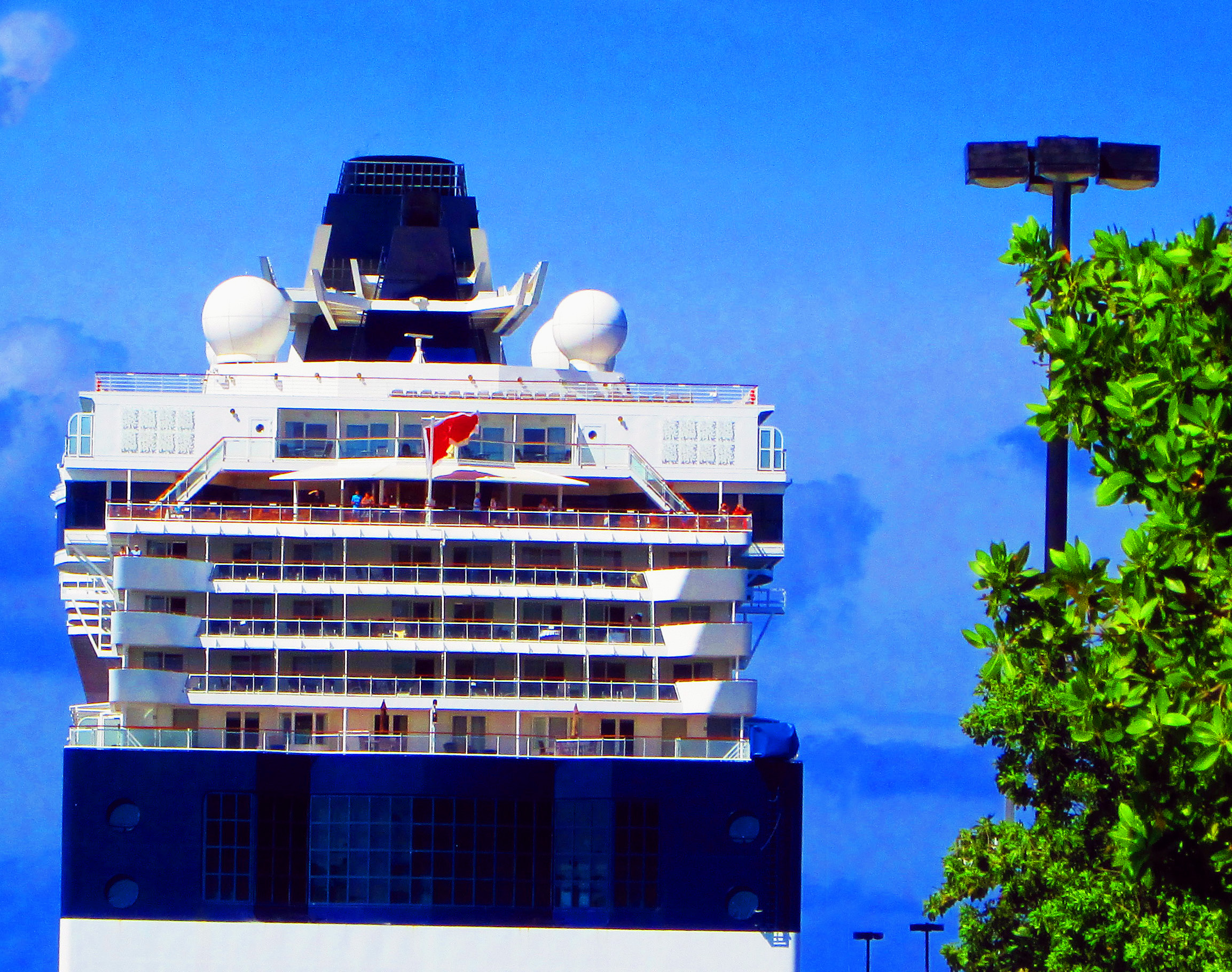 Rear Decks Of The Celebrity Summit Cruise Ship