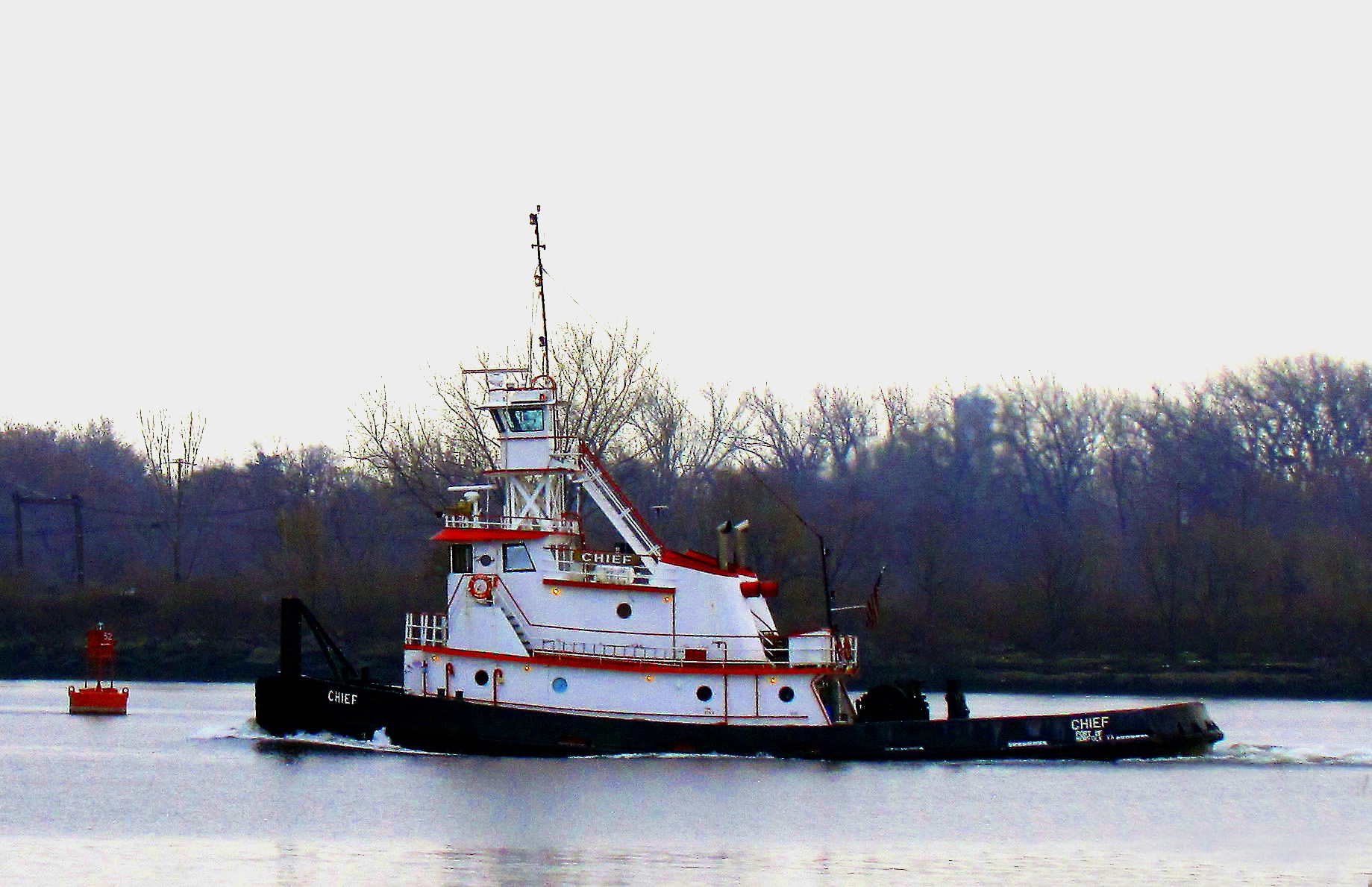 Delaware River Tugboat