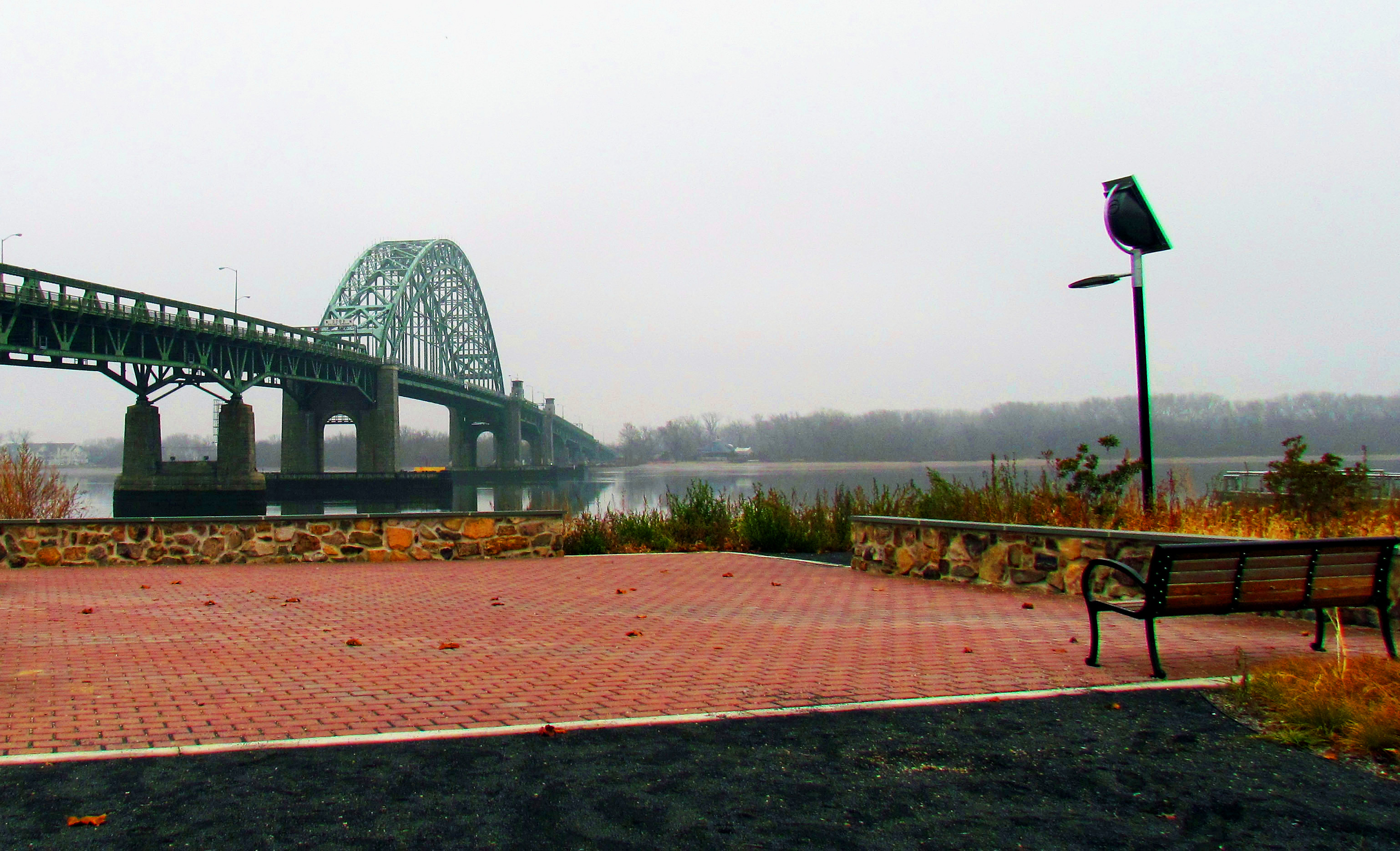 Lardner's Point River Observation Deck