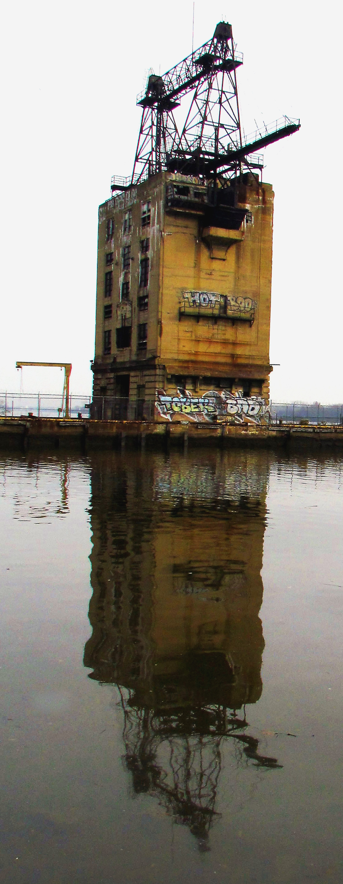 PECO Delaware Station Coal Tower In Fishtown
