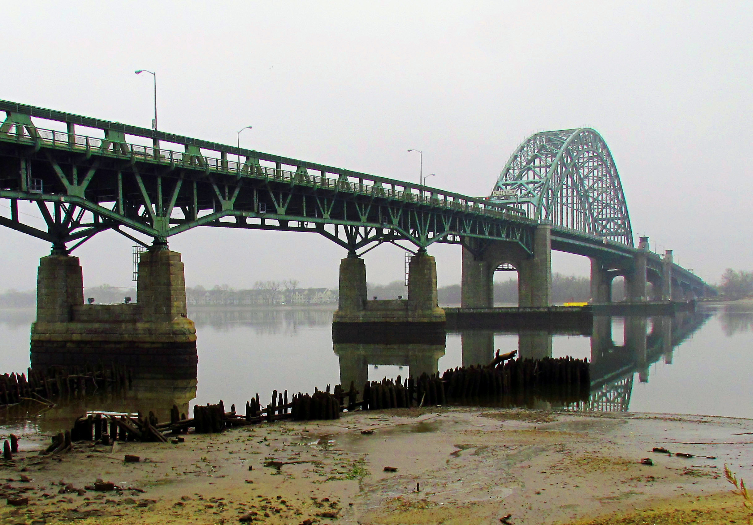Quiet Morning On The Tacony Palmyra Bridge