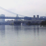 Philly-Side-Of-Ben-Franklin-Bridge-Over-The-Delaware-River