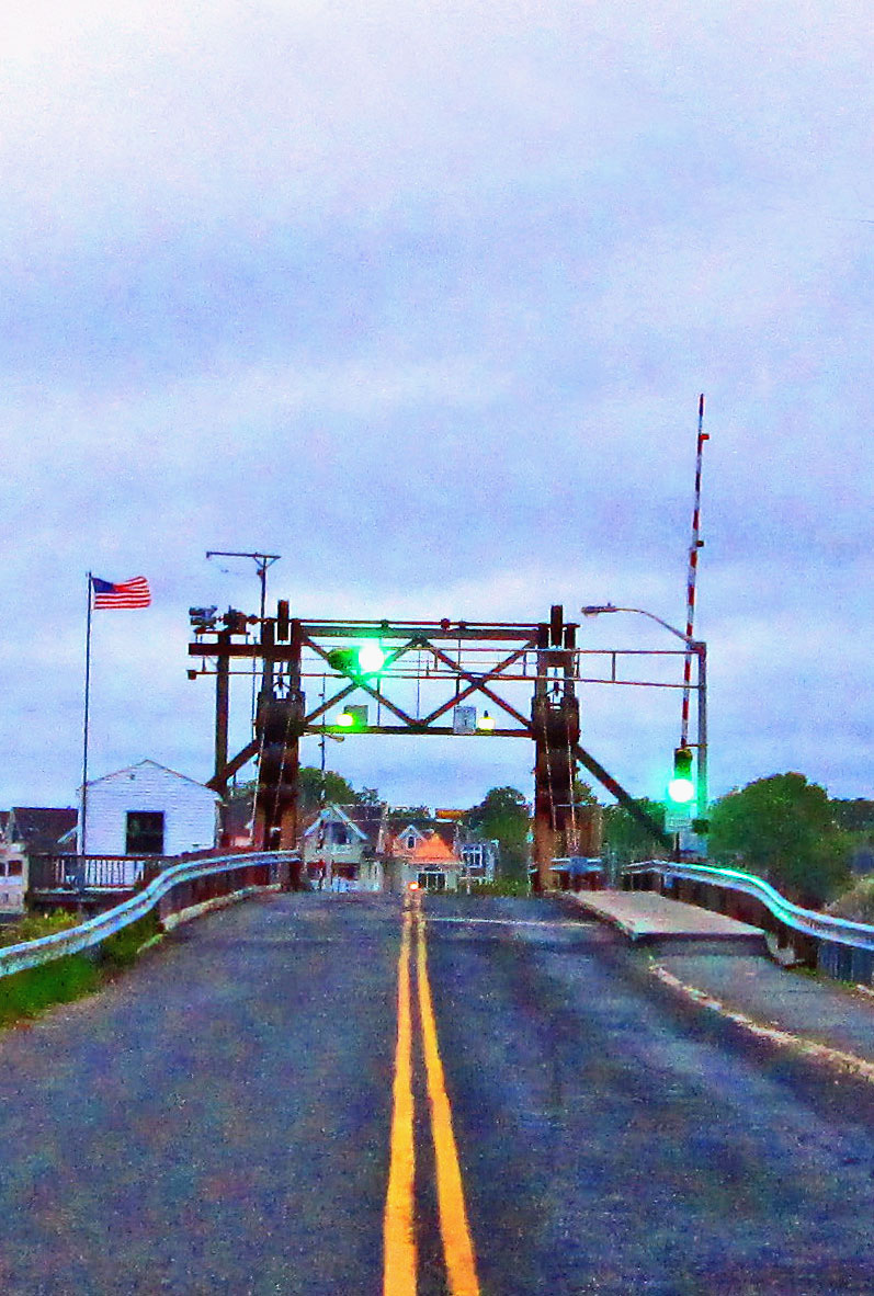 Brielle Road Drawbridge Leaving Manasquan NJ