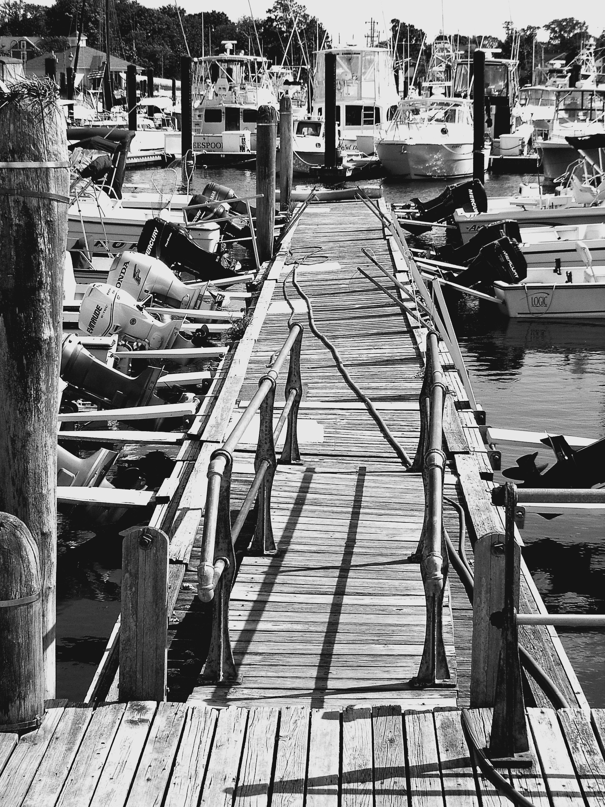 New Jersey Marina Boat Dock