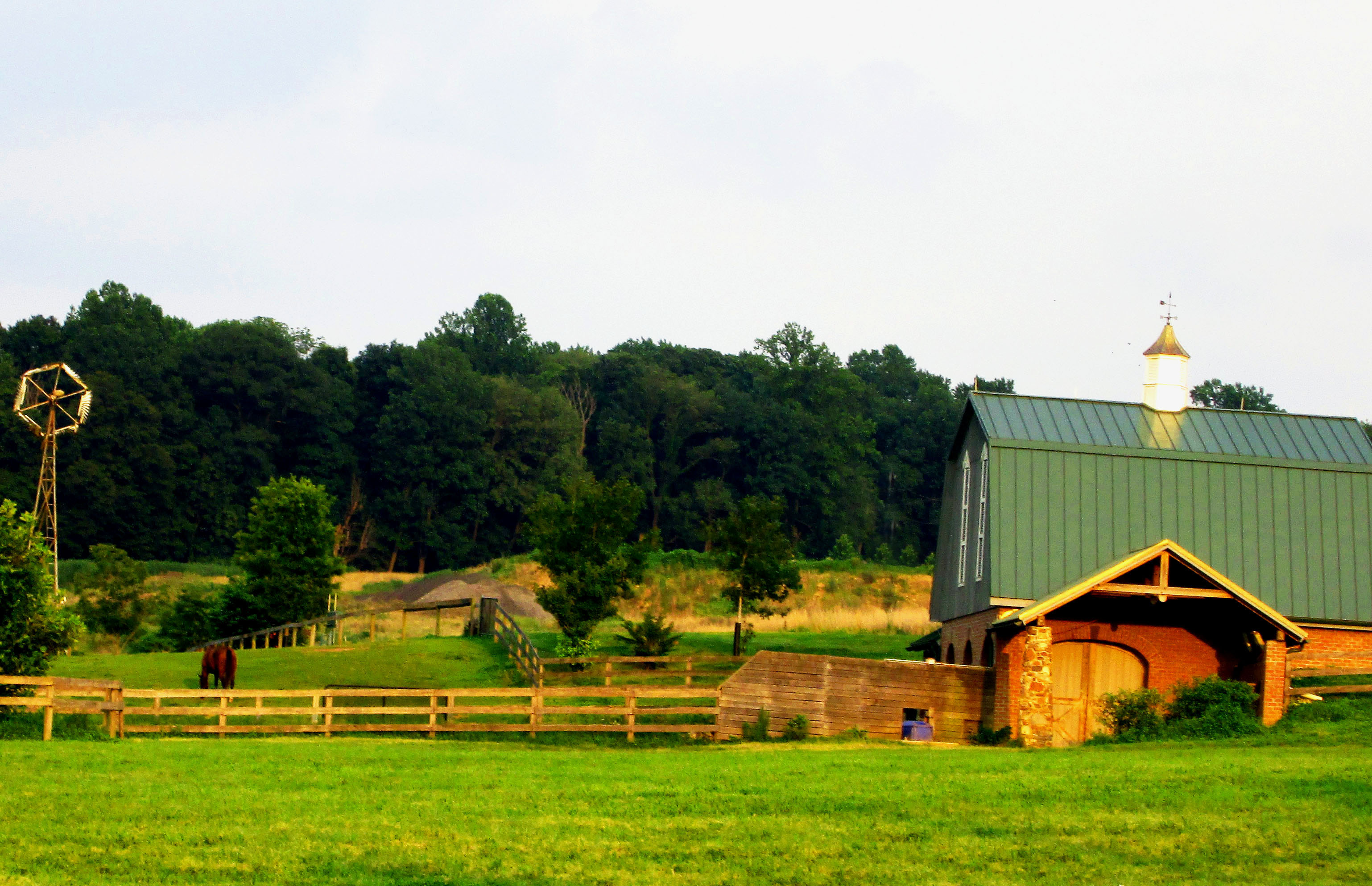 A Chester County Horse Farm