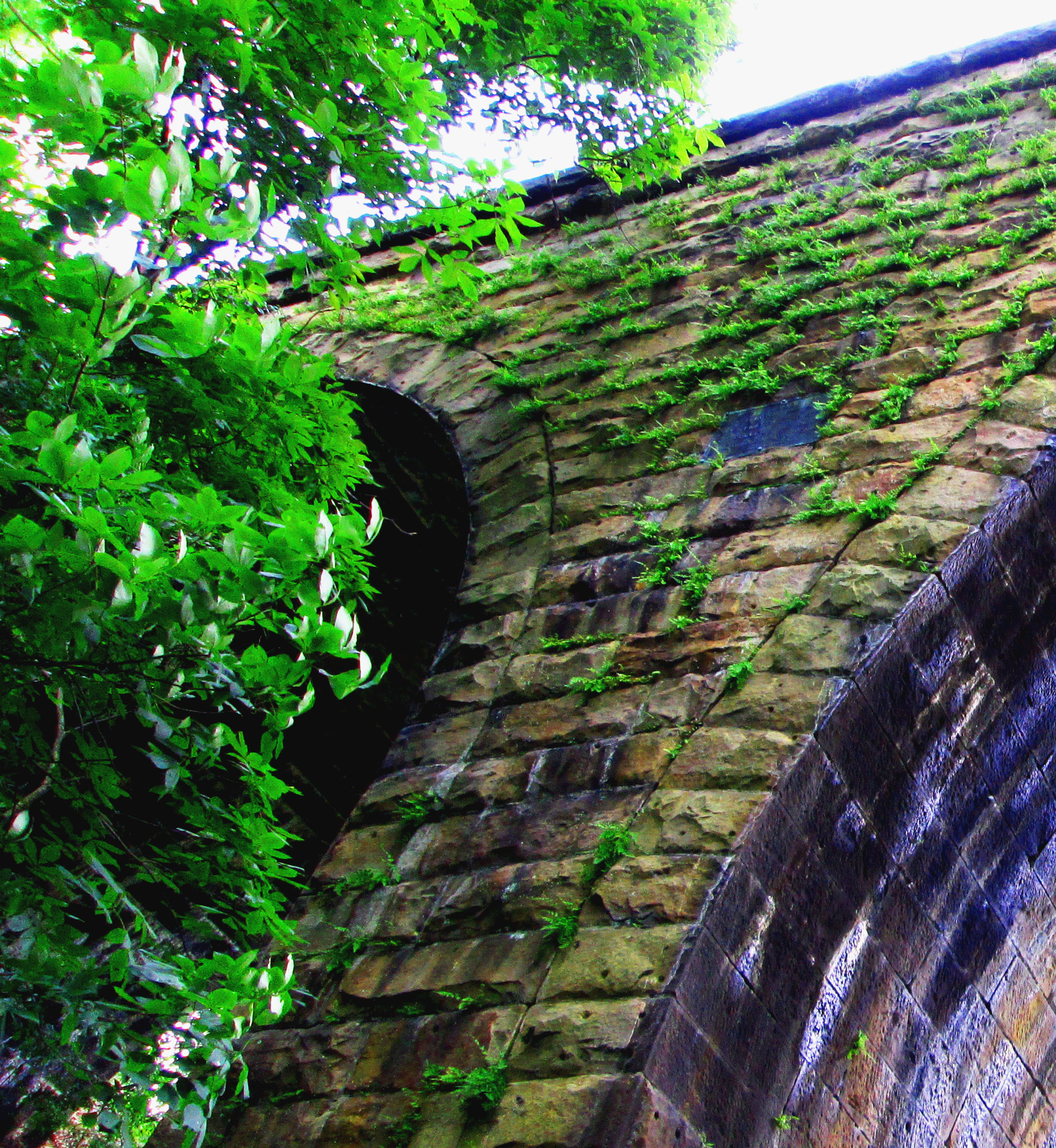 Stone Rail Road Bridge Arch Anchor