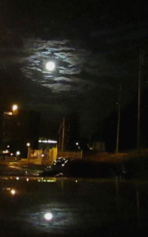 Moon Reflection In Rydal