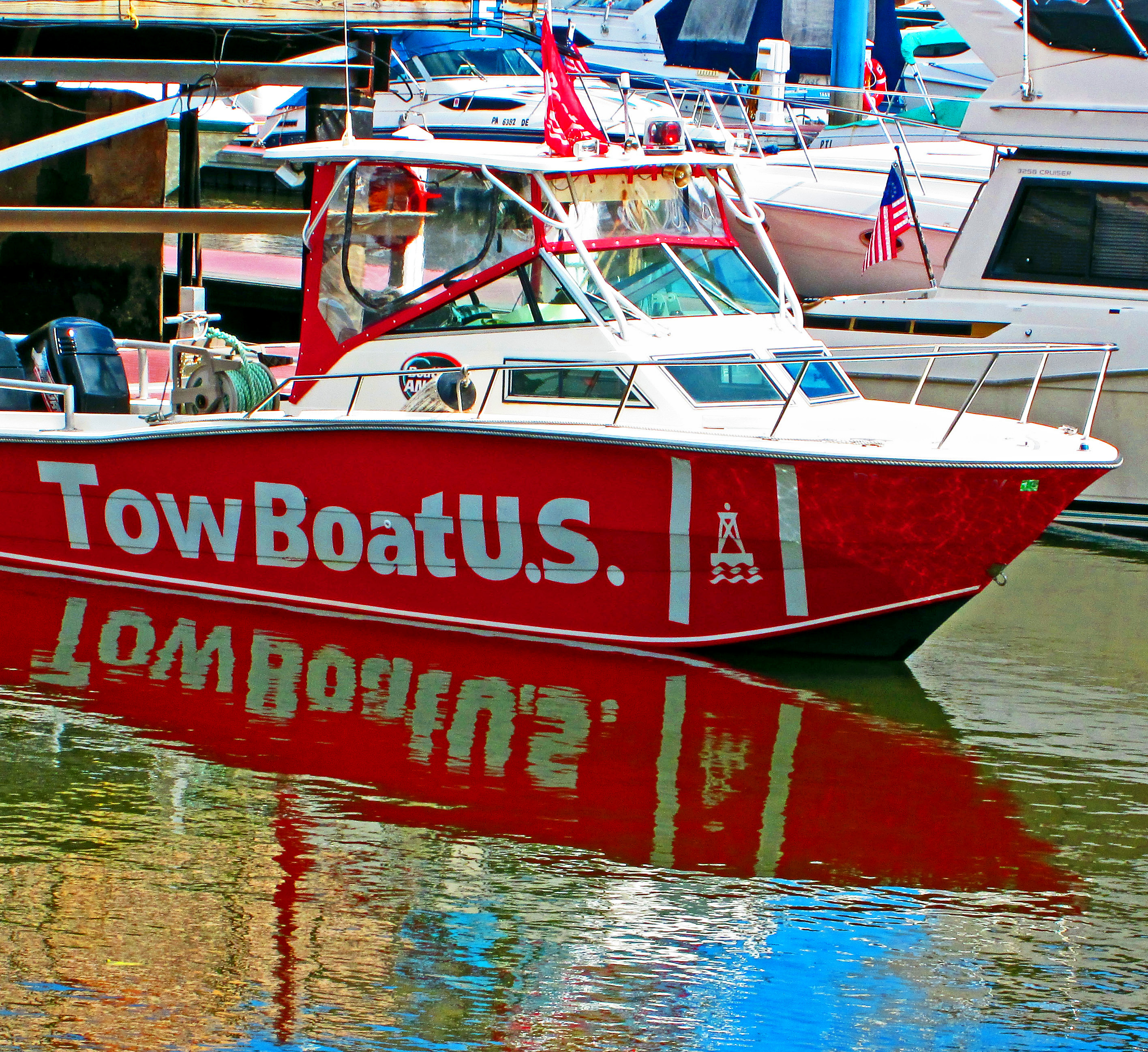 Philly Marina Tow Boat