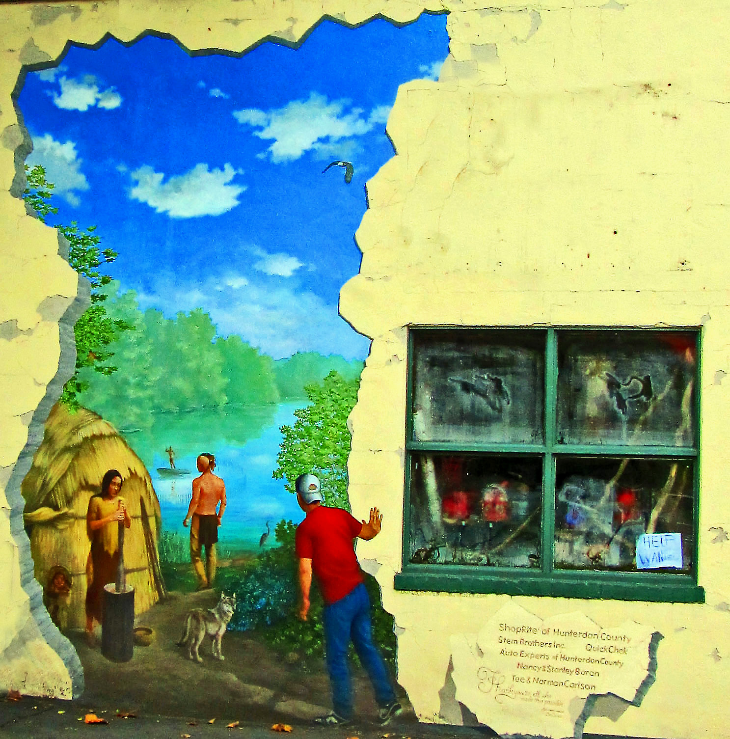 Mural In Frenchtown NJ