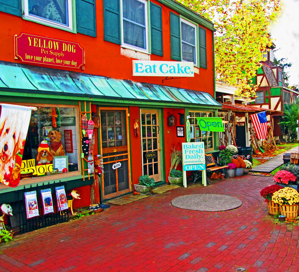 Shops Of Downtown Frenchtown NJ