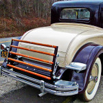 Packard 840 Rumble Seat Access Steps & Luggage Rack