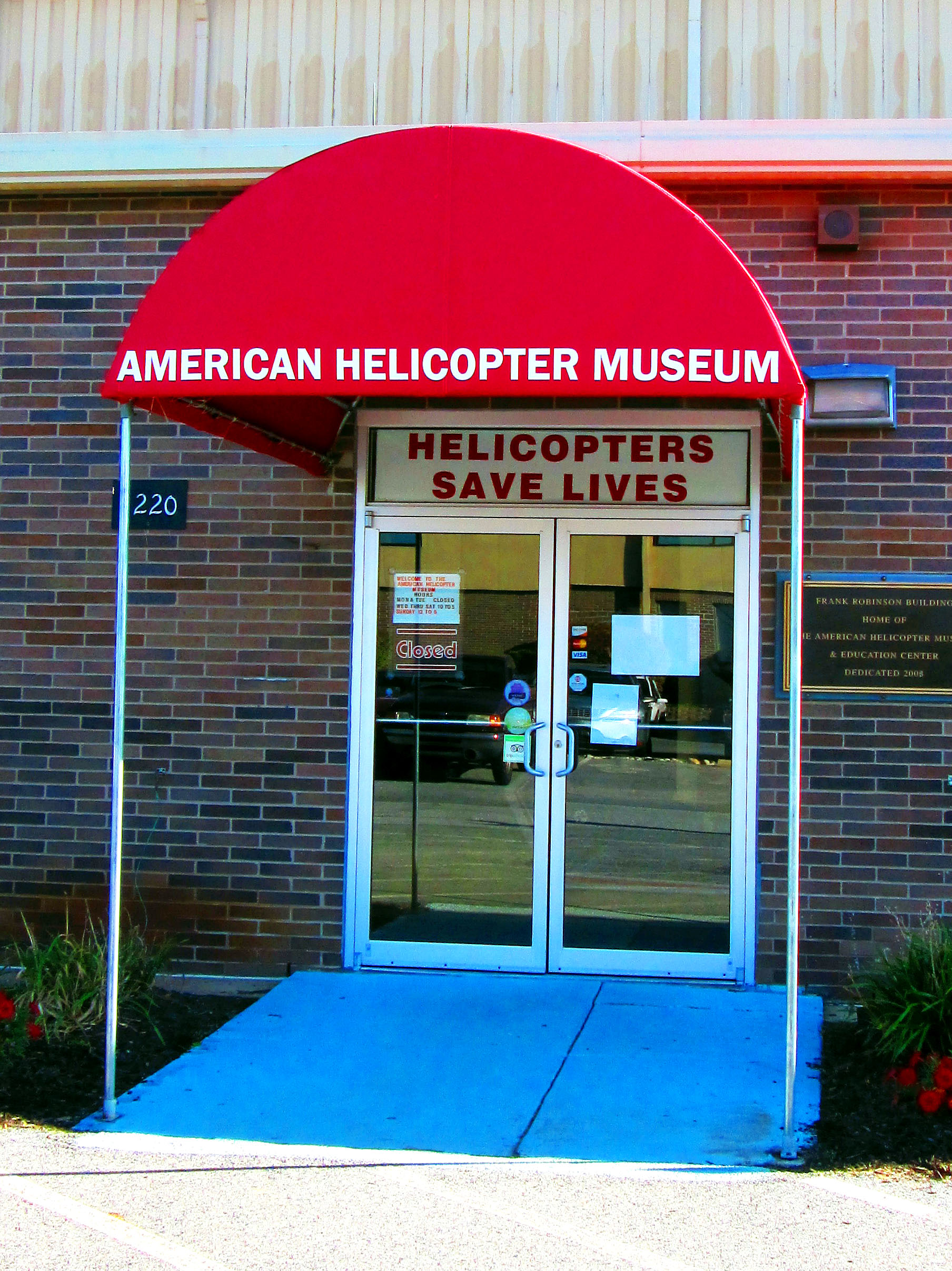 American Helicopter Museum In West Chester Pennsylvania