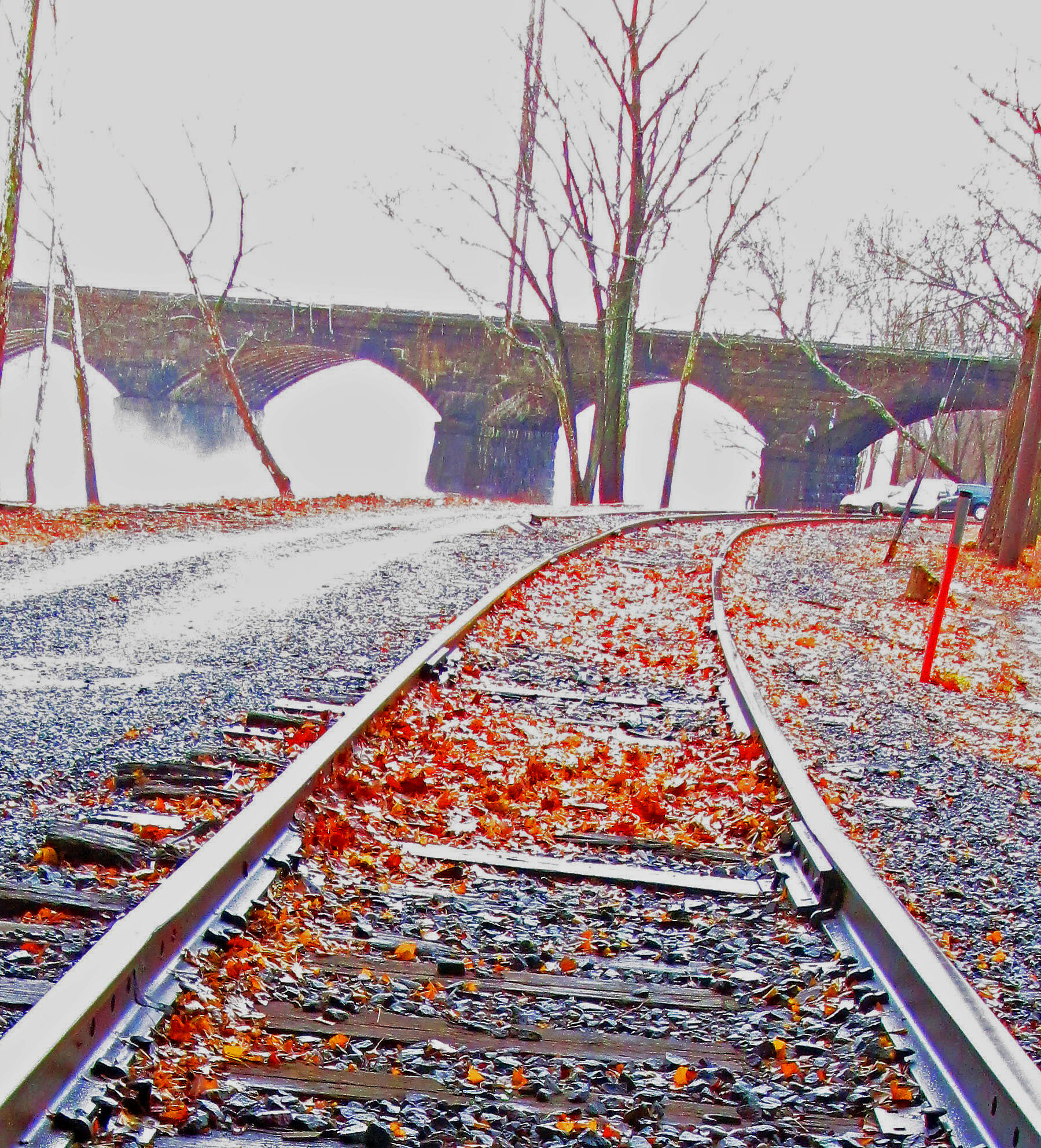 Rails Along The River