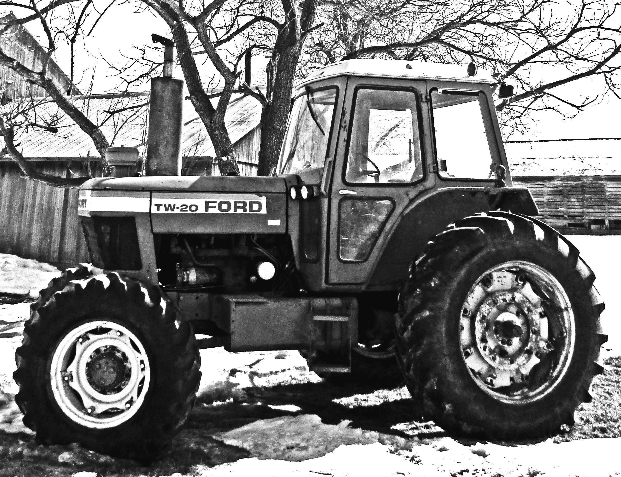 Black And White Tractor Related Keywords & Suggestions ...