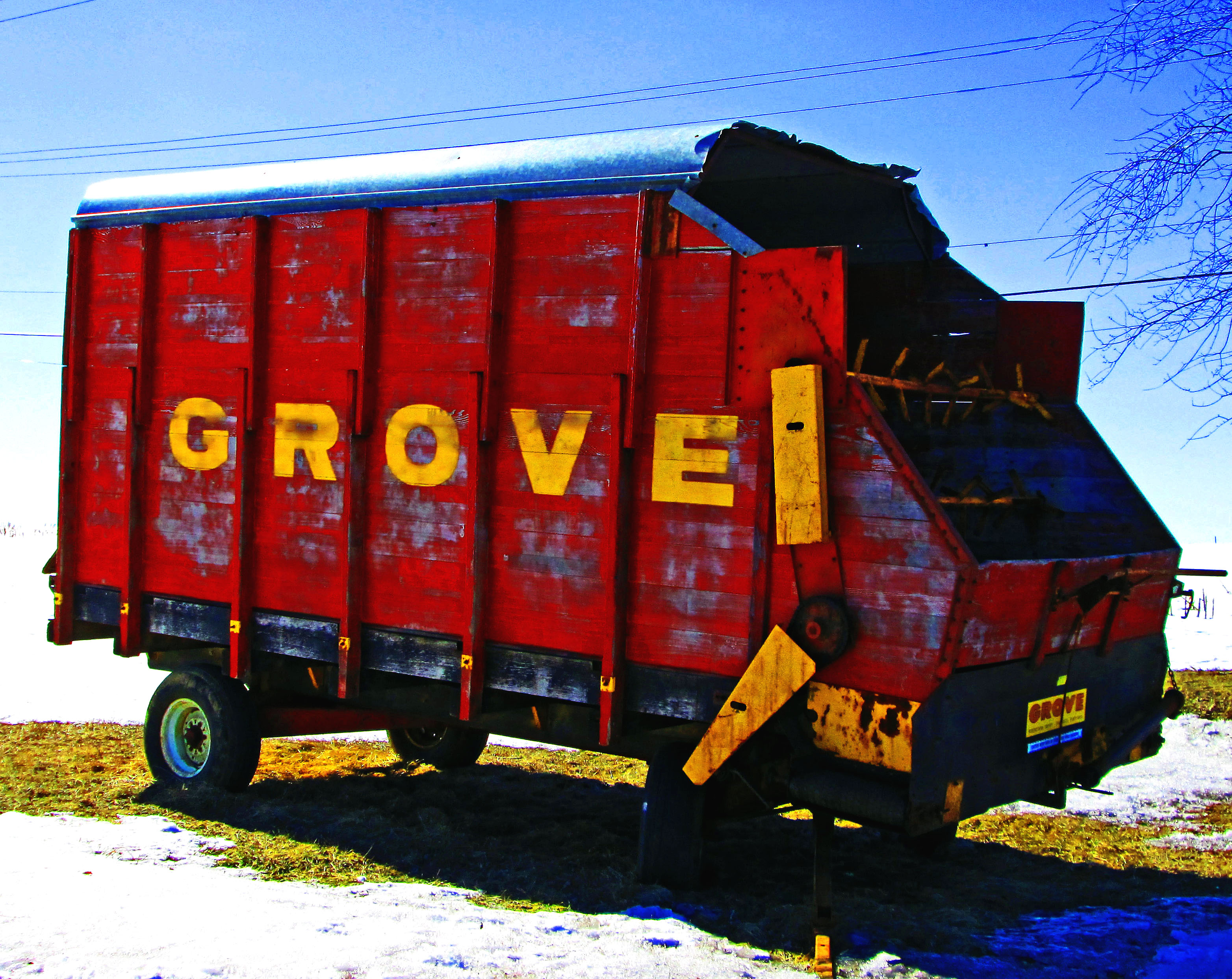 Old Grove Silage Wagon