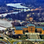 Philly Art Museum & Boat House Row Along The Schuylkill
