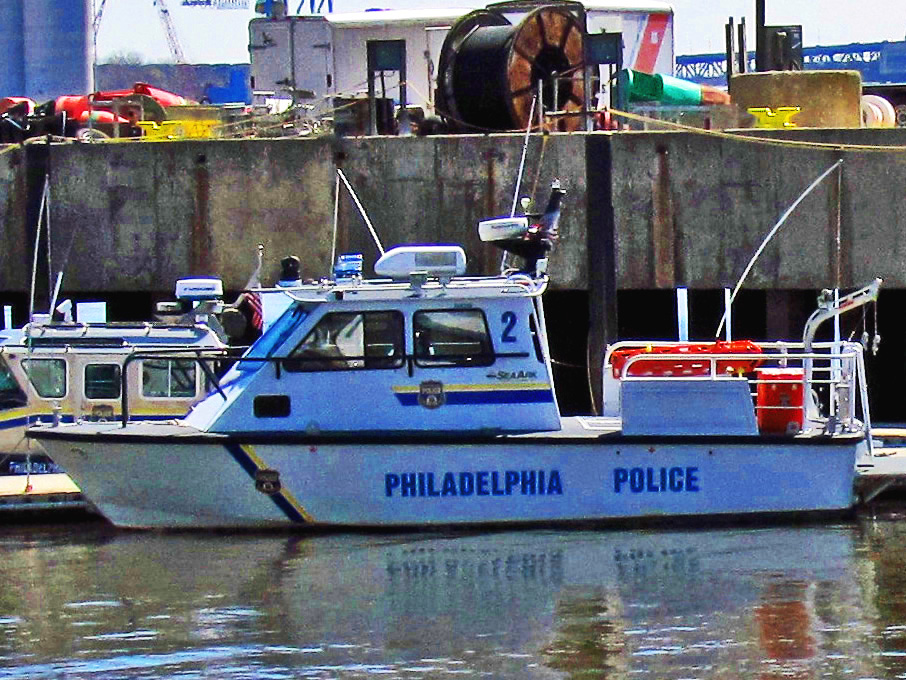 Philadelphia Police Marine Unit Docked In South Philly