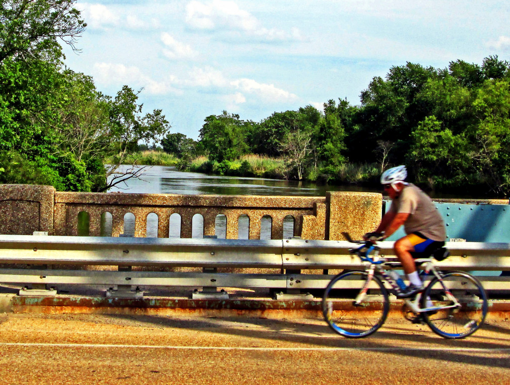 Biking Over Raccoon Creek