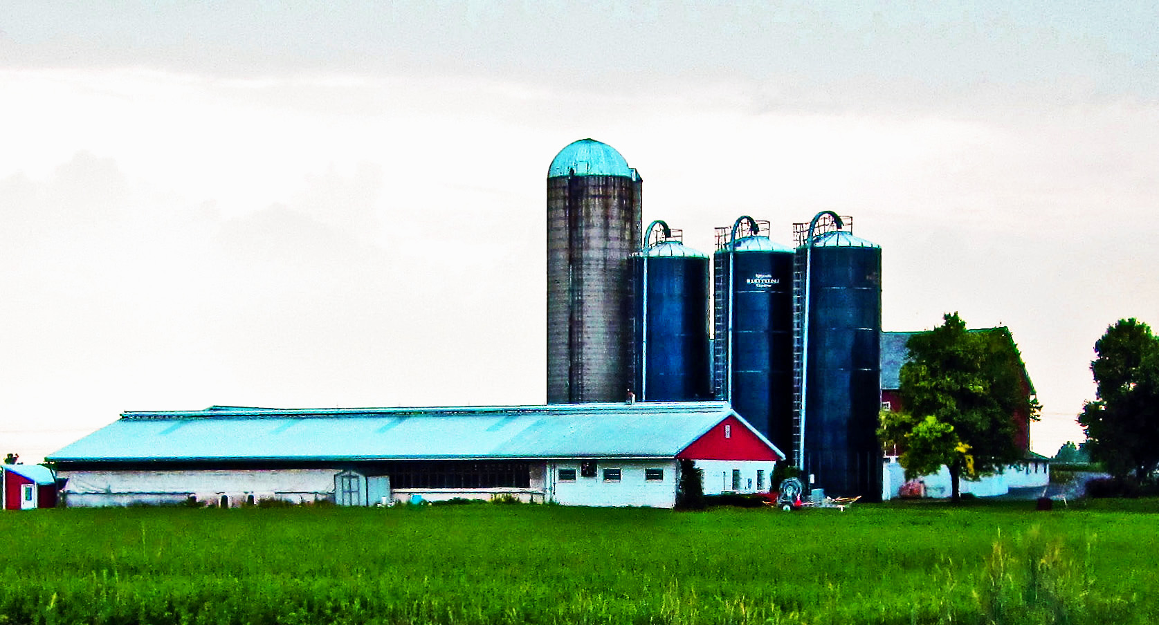 Farm Silos In Pennsylvania