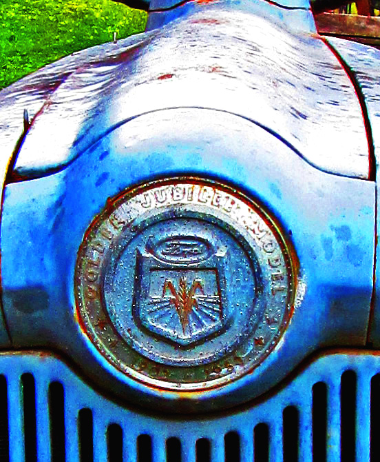 50th Year Golden Jubilee Badge On Ford Tractor