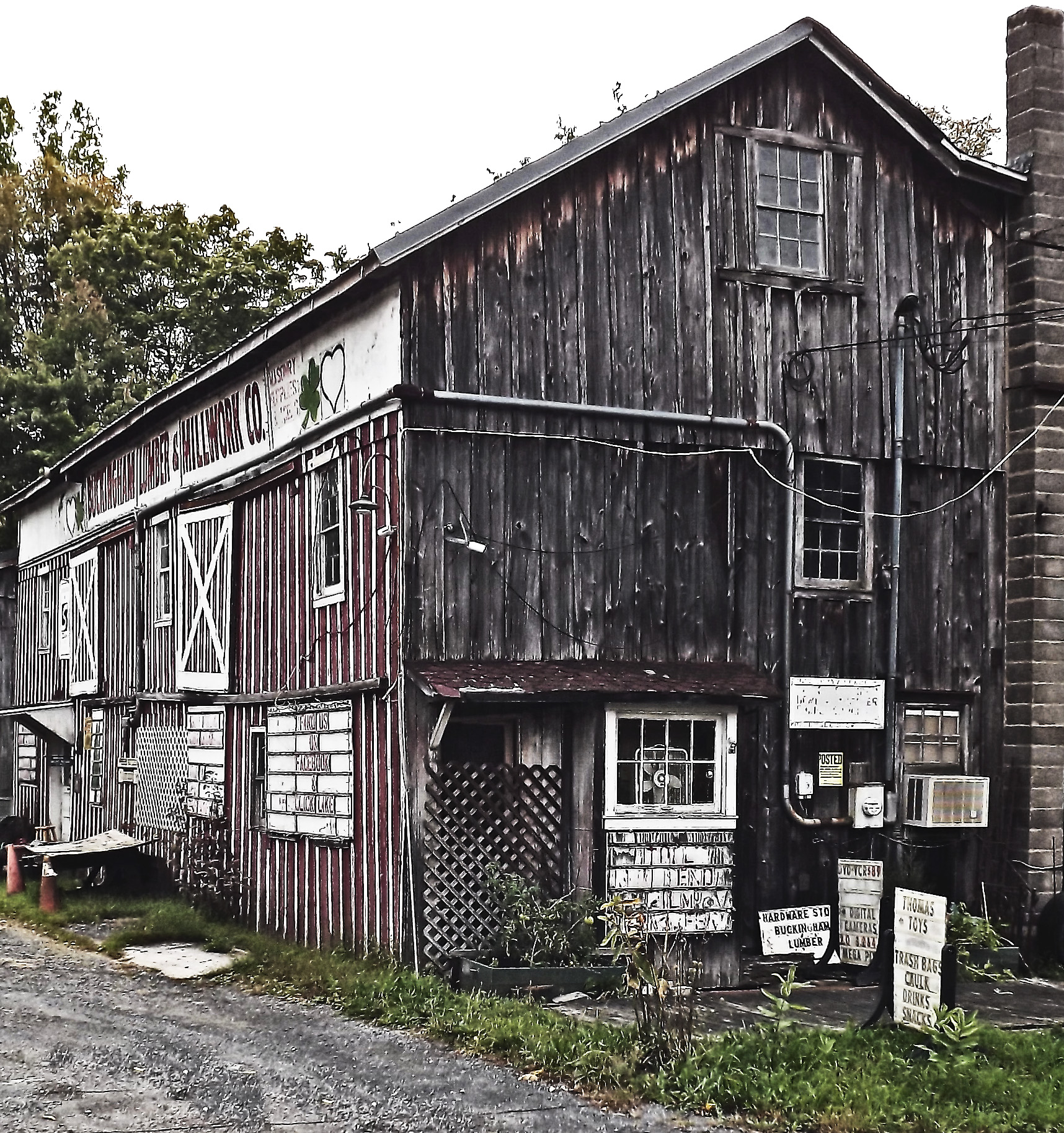 Old Pennsylvania Mill Work Barn